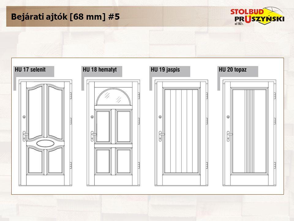 Bejárati ajtók [68 mm] #5